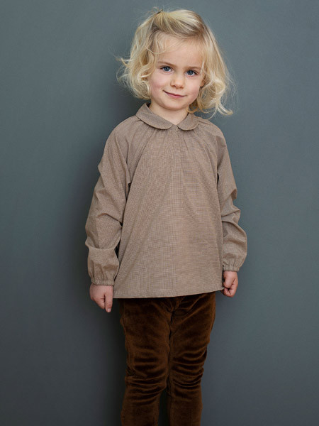 Girl Blouse, Walnut Square, Serendipity
