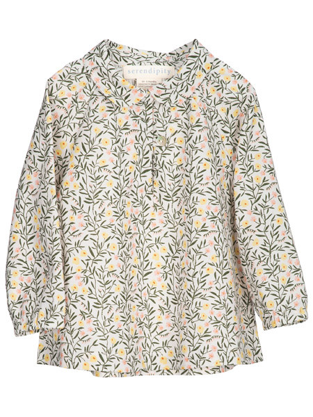 Baby Blouse, Sweet Pea, Serendipity