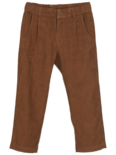 Button Pants, Walnut, Serendipity