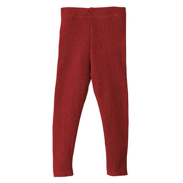 Uld leggings, Bordeaux, Disana