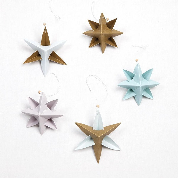 Paper Star Ornaments, Fabelab