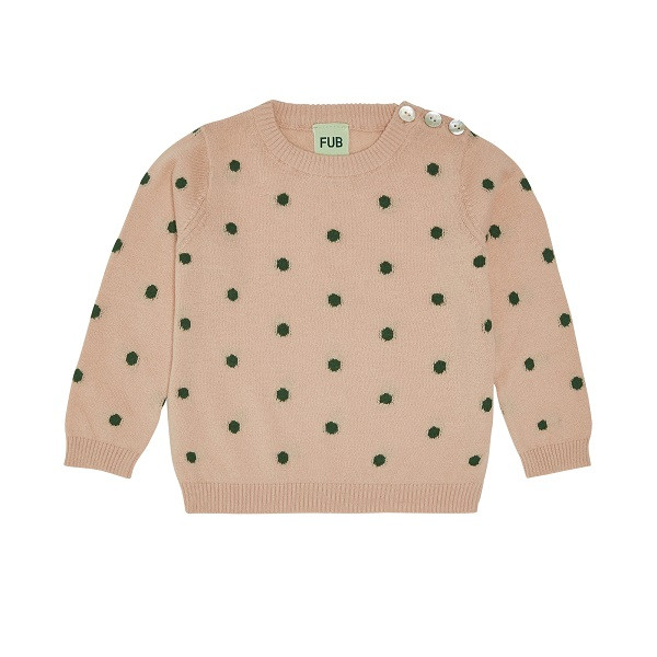 Baby Dot Bluse, Rose Forest, FUB