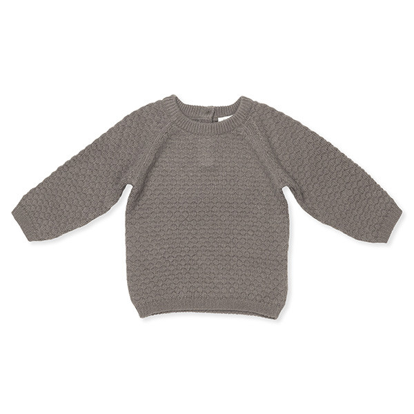 Columbus Sweater, Cashmere, Brown, Lalaby