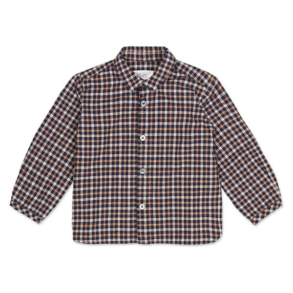 Arthur Baby Skjorte, Checked Flannel, Lalaby