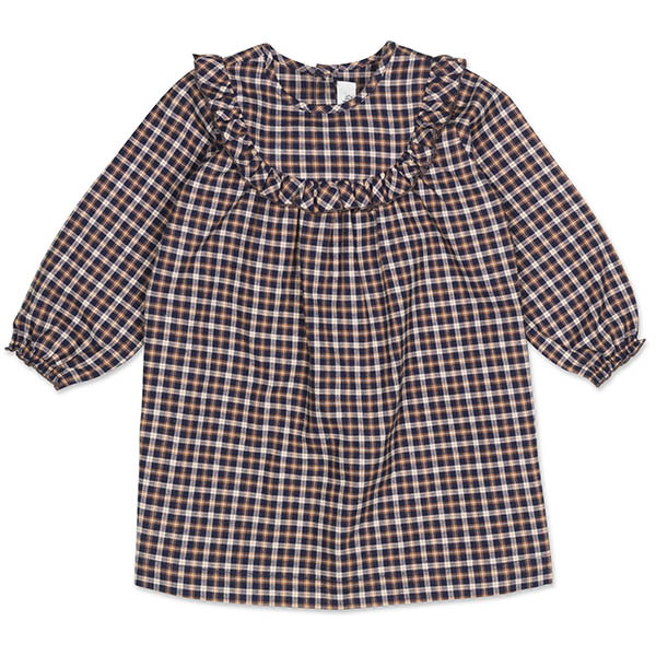 Noey Baby Skjortekjole, Checked Flannel, Lalaby