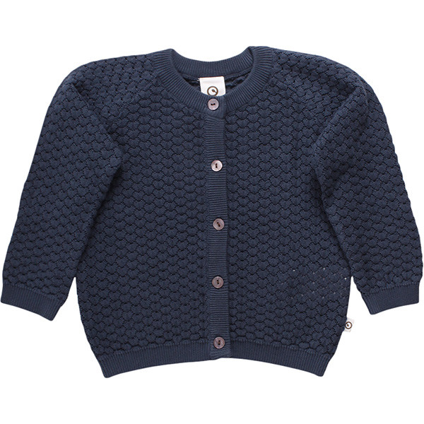 Knit Drop Cardigan, Midnight, Müsli