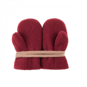 Babyvanter Uldfleece, Burgundy, Pure Pure