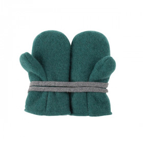 Babyvanter Uldfleece, Smoke Green, Pure Pure