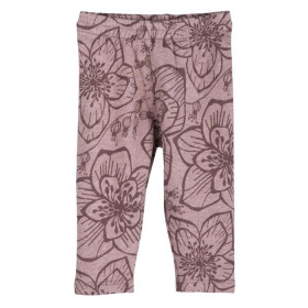 Baby Sweat Leggings, Woodrose Flower, Serendipity