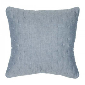 Quilt Pillow, Denim Blå, Serendipity