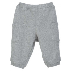Baby Sweat Pants, Bomuld, GREY, Serendipity