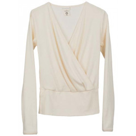 Wrap Blouse, Natur, Serendipity Woman