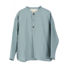 Gauze Shirt, Dusty Blue, Serendipity