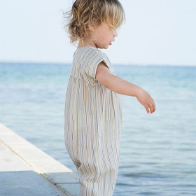 Baby Puff Suit, Multistripe, Serendipity