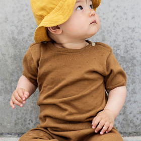 Baby Knit suit, Cumin, Serendipity