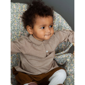 Baby Blouse, Walnut Square, Serendipity