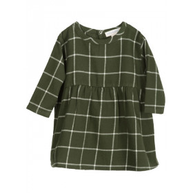 Baby Brushed Dress, Cedar Checks, Serendipity