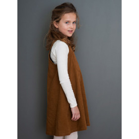Spencer Dress, Walnut, Serendipity