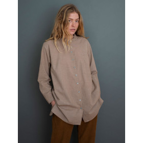 Large Shirt, Walnut Square, Serendipity Woman