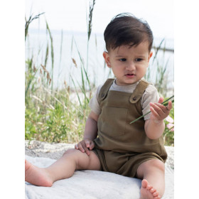 Baby Overall, Seagrass, Serendipity