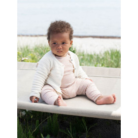 Baby Texture Cardigan, Offwhite, Serendipity