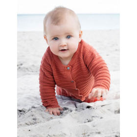 Baby Texture Cardigan, Spice, Serendipity