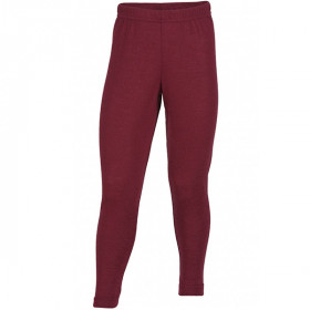 Leggings Uld/Silke, Burgundy, Engel