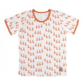 Duck T-Shirt, Peach Ducks, Pure Pure