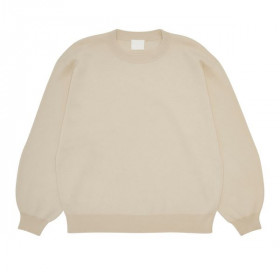 Double Faced Sweater, Ecru, FUB Woman