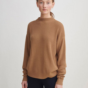 Rib Sweater, Camel, FUB Woman