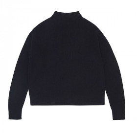 Rib Sweater, Dark Navy, FUB Woman