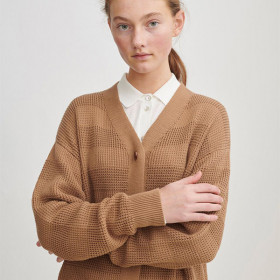 Structure Cardigan, Camel, FUB Woman