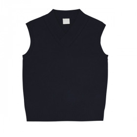 Uld Vest, Dark Navy, FUB Woman