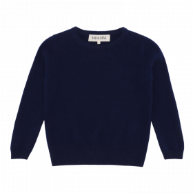 Billy Strik Bluse Jr., 100% Cashmere, Midnight, Holmm