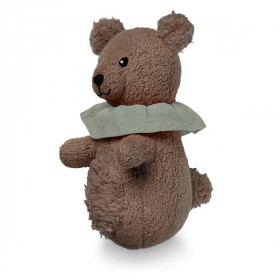 Soft Animal Rattle, Bear, Cam Cam