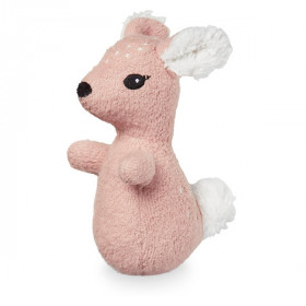 Soft Animal Rattle, Fawn, Cam Cam