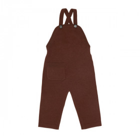 Baby Uld Overalls,Umber, FUB