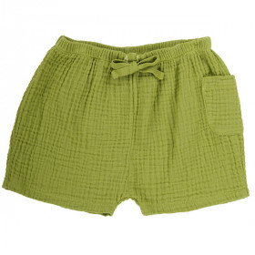 Ellis Shorts, Apple Green, Omibia