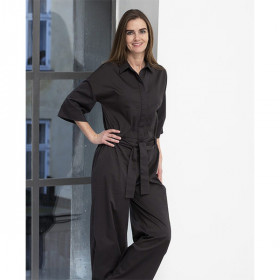 Aspen Jumpsuit, Faded Black, Elodiee Woman