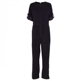 Lina Jumpsuit, Deep Navy, Elodiee Woman