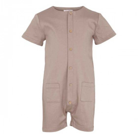 Zane Playsuit, Deep Taupe, Elodiee