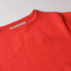 Alpaca Sweater, Bristol, Red, Esencia Woman