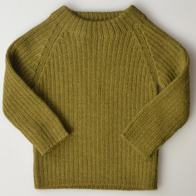 Joe Rib Sweater, Alpaca, Olive, Esencia