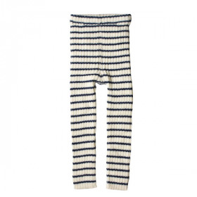 Alpaca Leggings, Navy Strib, Esencia