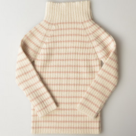 Rib Sweater, Rosé Strib, Esencia