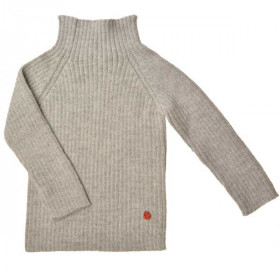 Rib Sweater, Dove, Esencia
