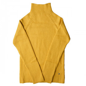 Rib Sweater, Amber, Woman, Esencia