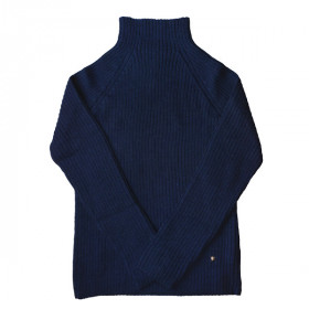 Rib Sweater, Navy, Woman, Esencia