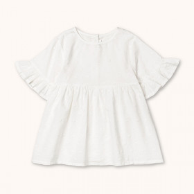 Baby Top Flora, White, Lalaby