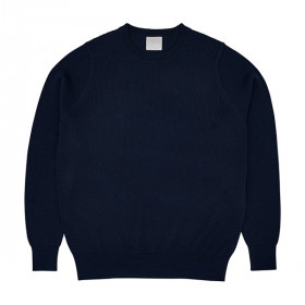Rib Sweater, Navy, FUB Woman